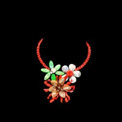 Bimbeads Shakara Petal Pearl and Shell Necklace Beads in Nigeria