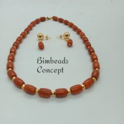 Bimbeads single string coral
